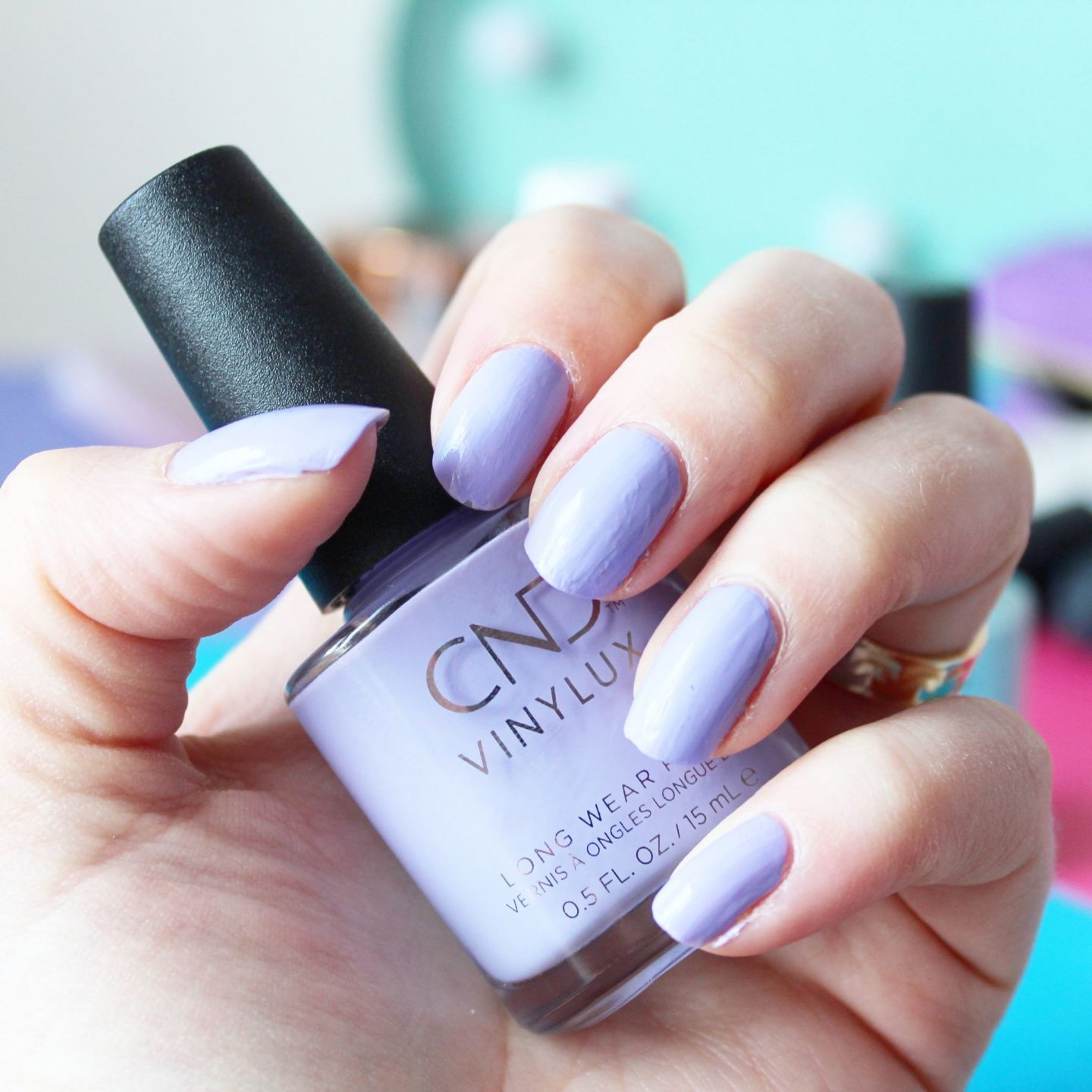 CND Vinylux Long Wear Polish | Chic Shock Collection (Gummi)