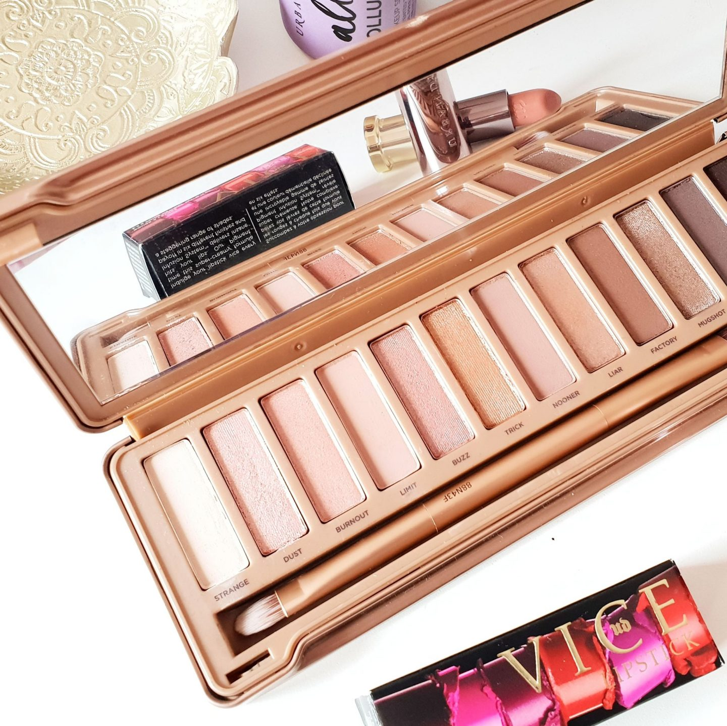Urban Decay Naked3 Eyeshadow Palette Swatches