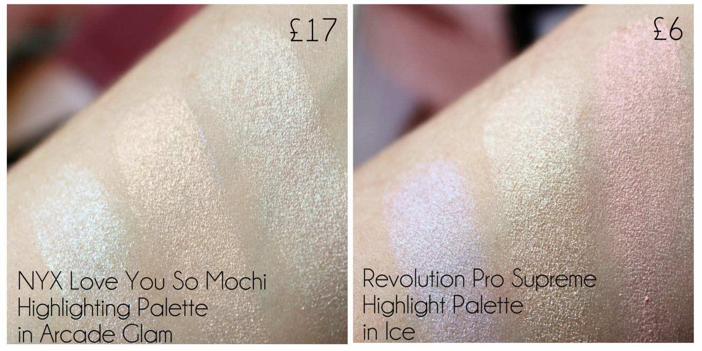 Revolution Pro Highlight in Ice | Swatches