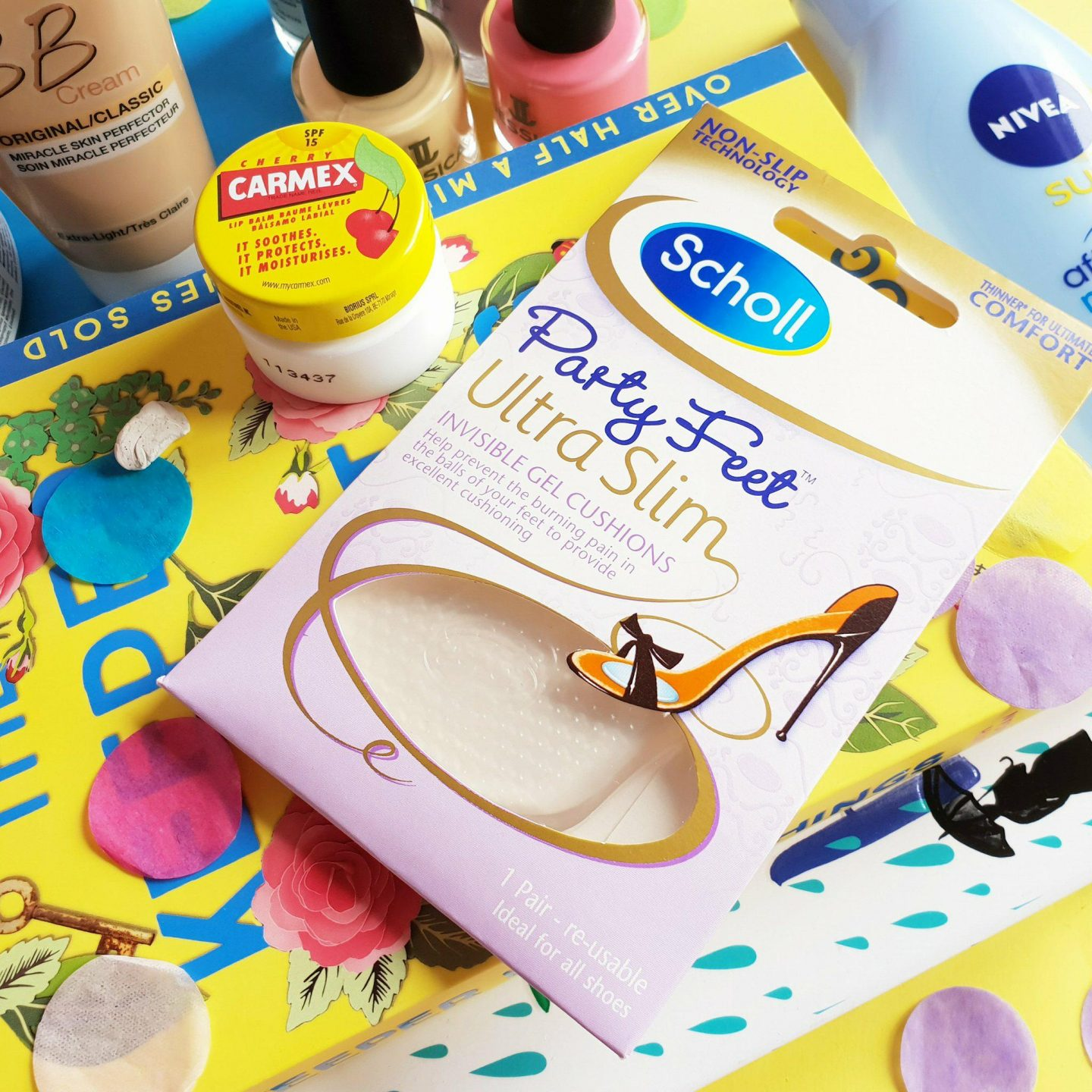 Chemist.co.uk | Scholl Party Feet Ultra Slim Invisible Gel Cushions