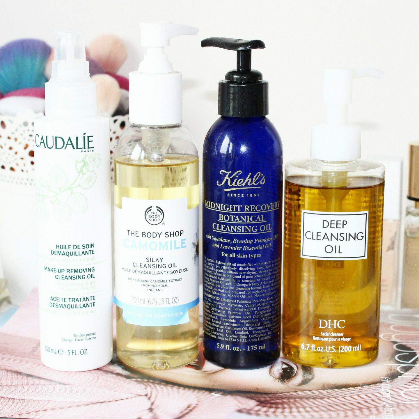 Cleansing Oils That Melt Your Makeup Off