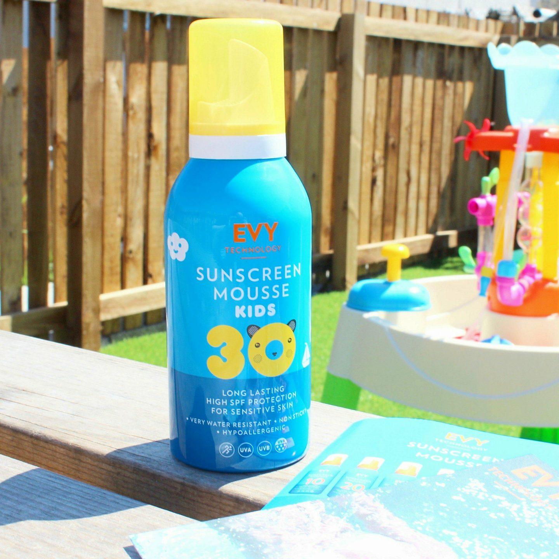Evy Technology Sunscreen Mousse SPF 30 Kids