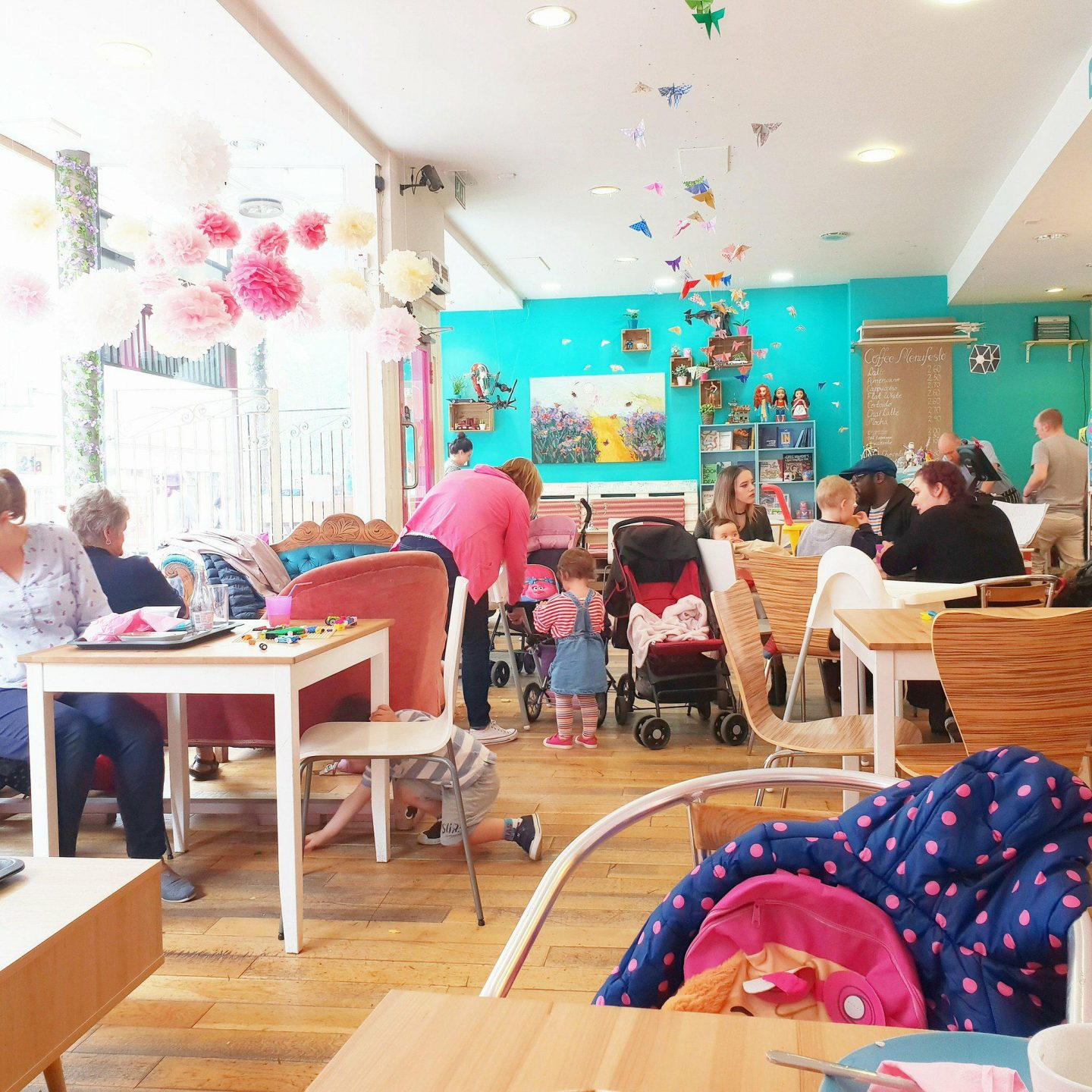 Our visit to the Butterfly Cafe, Dundee | A Baby-Friendly Cafe