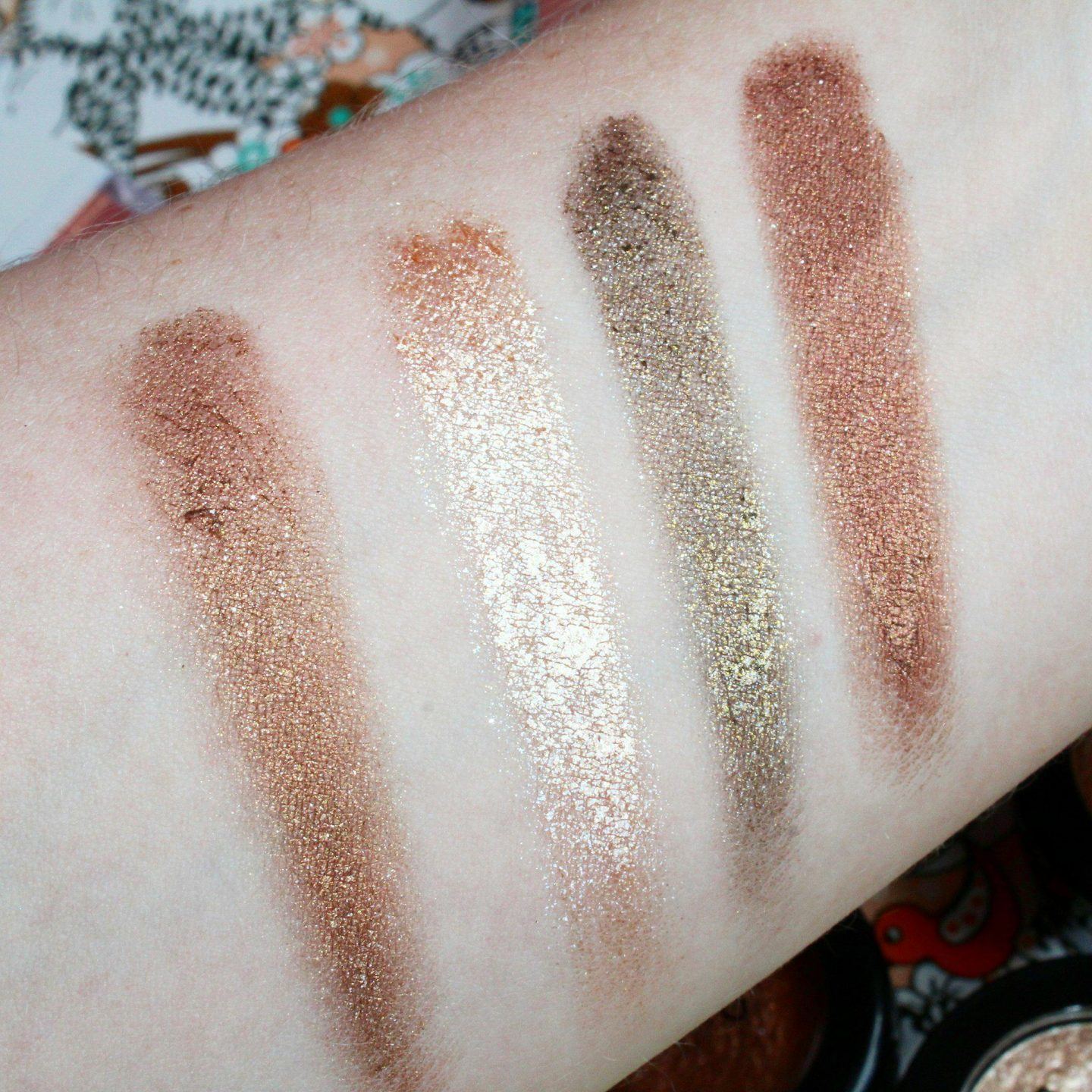 Phase Zero Makeup | Metal Foil Eyeshadows (£5 Off Discount Code) Swatches