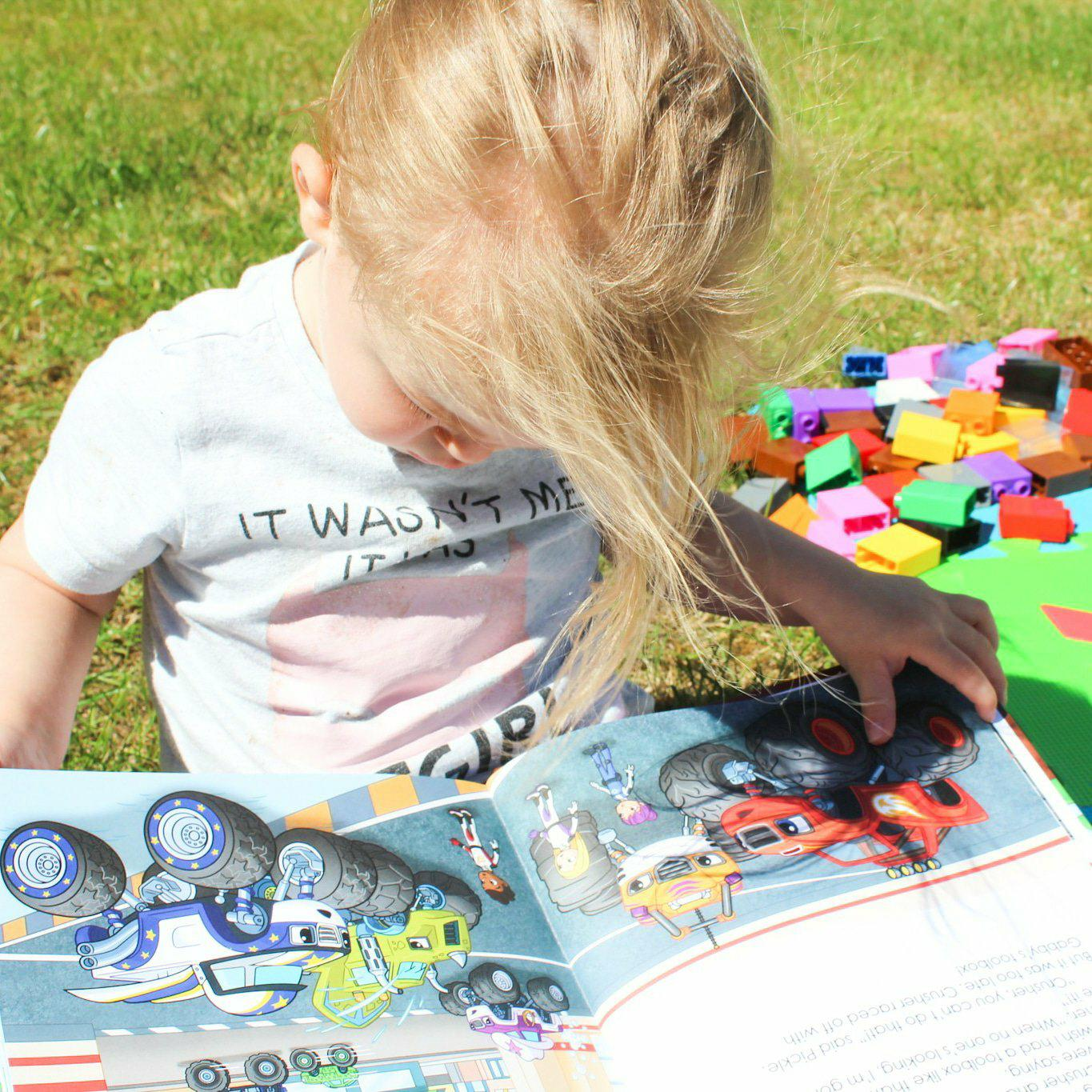 Penwizard Personalised Books | New Blaze and the Monster Machines Book