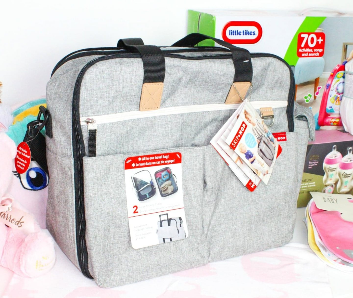 Hospital Bag Checklist | Skip Hop Duo Signature Weekender Changing Bag