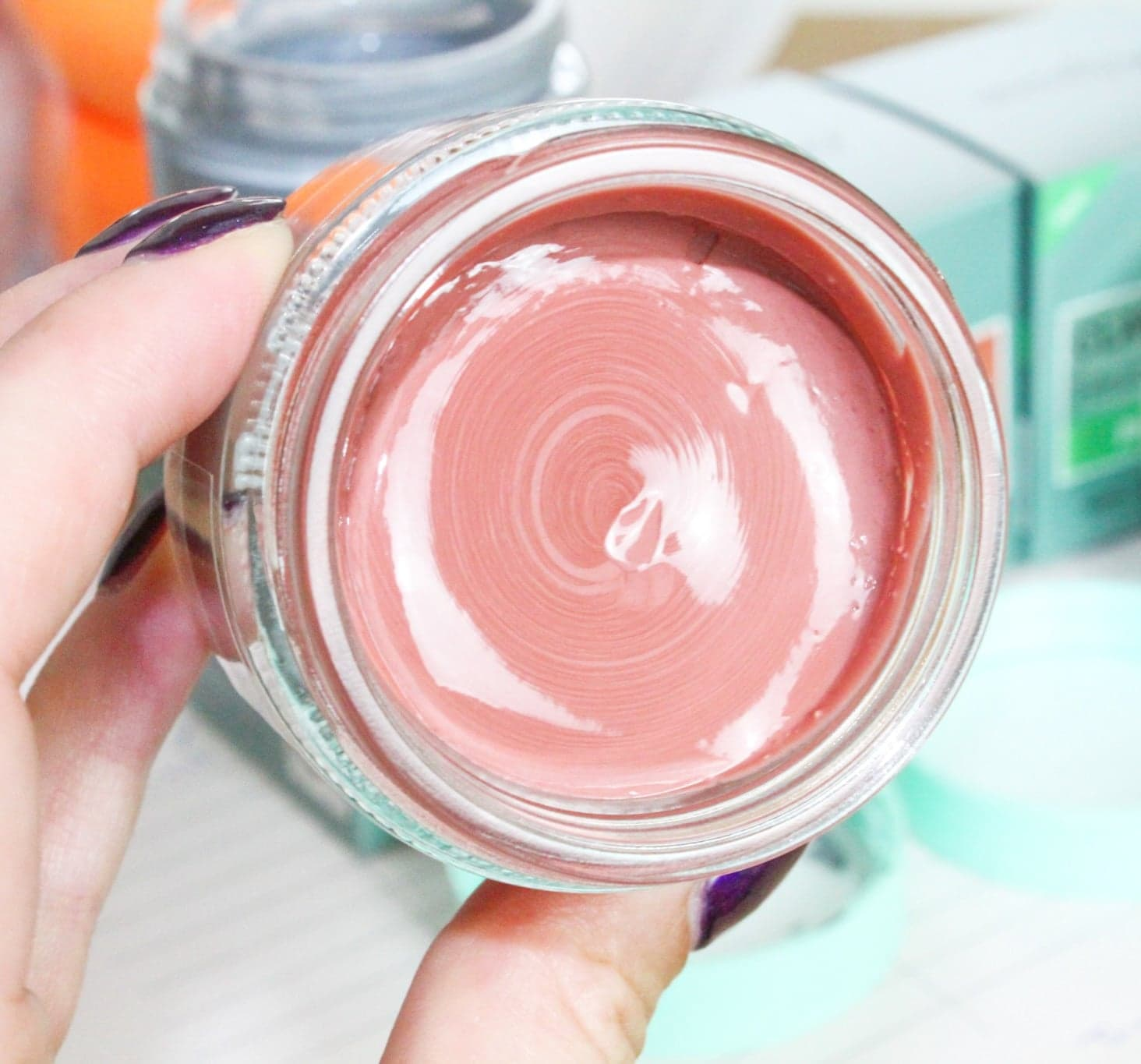 Derma V10 Clay Mask Collection   Brightening Clay Mask with Red Algae