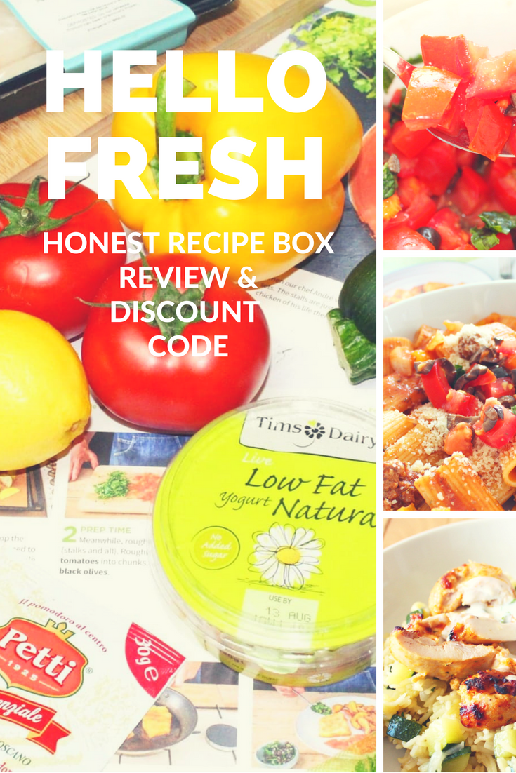 Seize The Summer with HelloFresh | A Recipe Box Review & Discount Code
