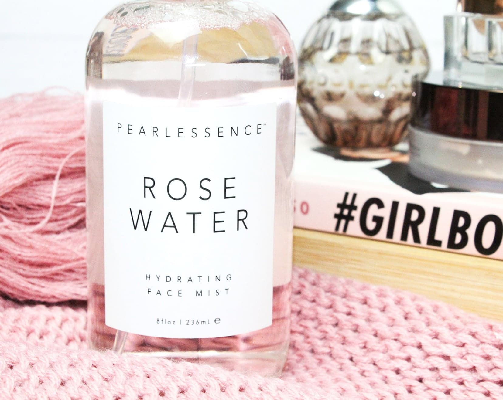 Pearlessence Rose Water Hydrating Face Mist | A Hidden Gem at TK Maxx