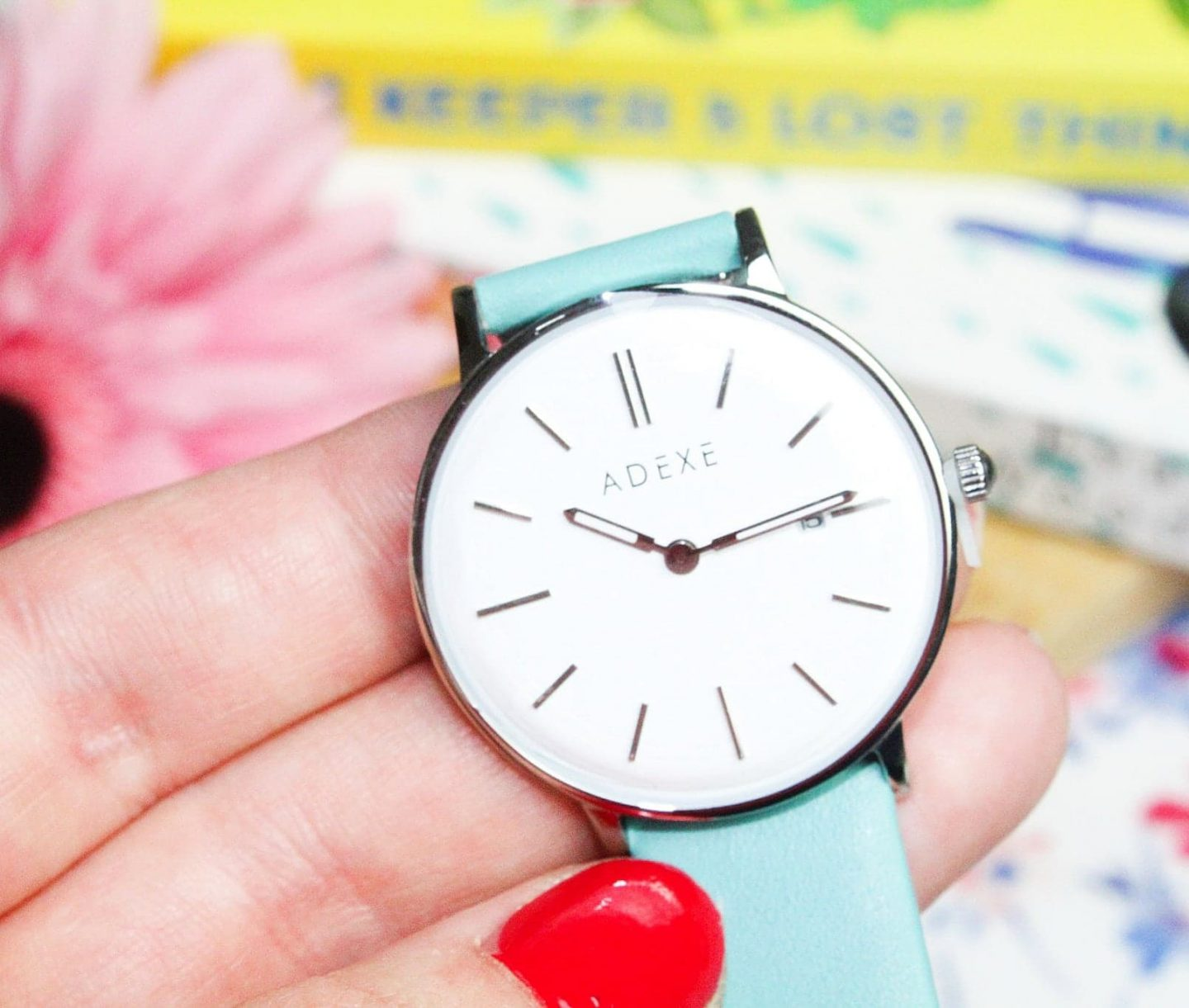 ADEXE London: The Meeks Collection | Petite Lake Blue Watch For Her