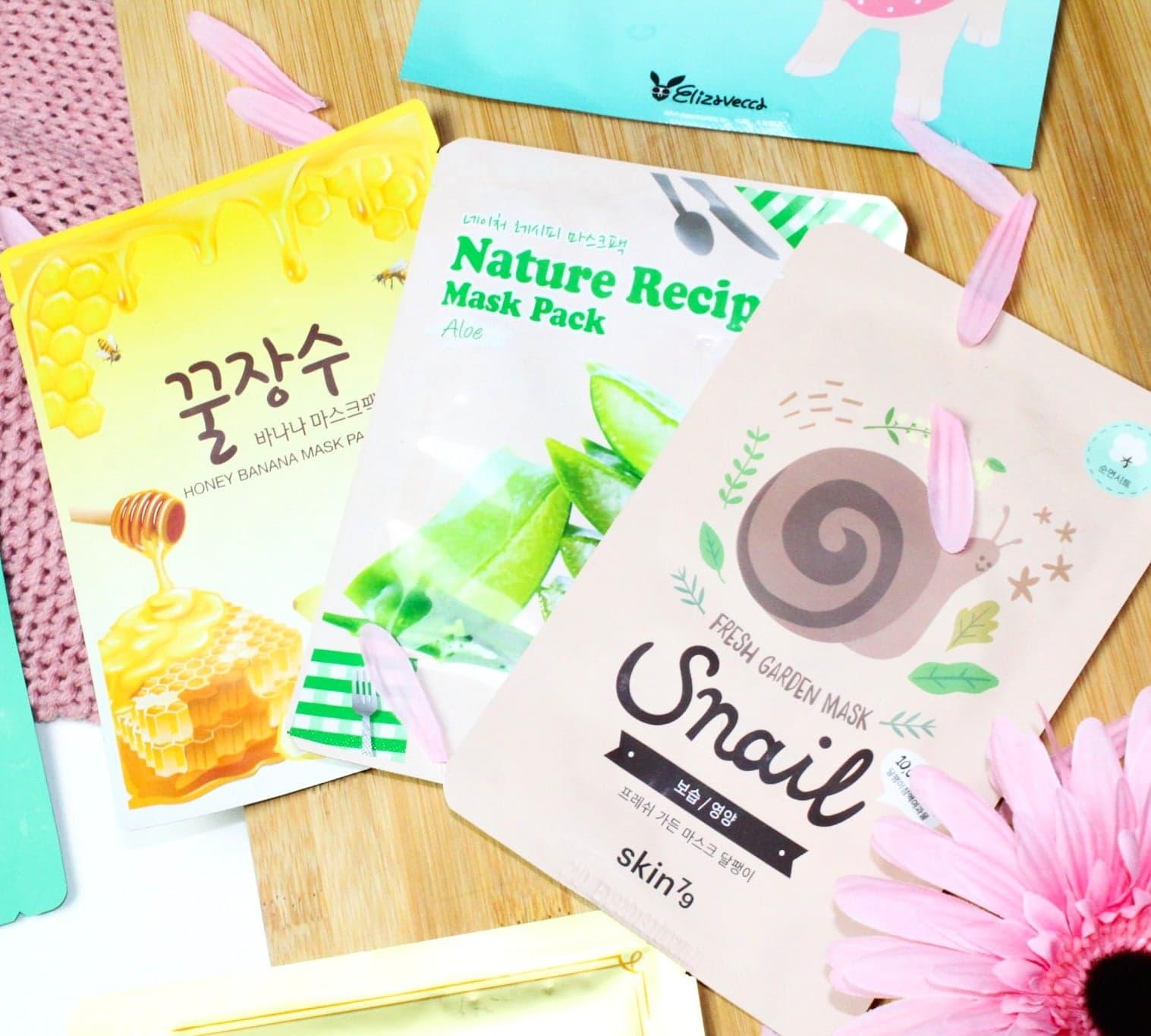 Korean Beauty Sheet Mask Haul at TK Maxx