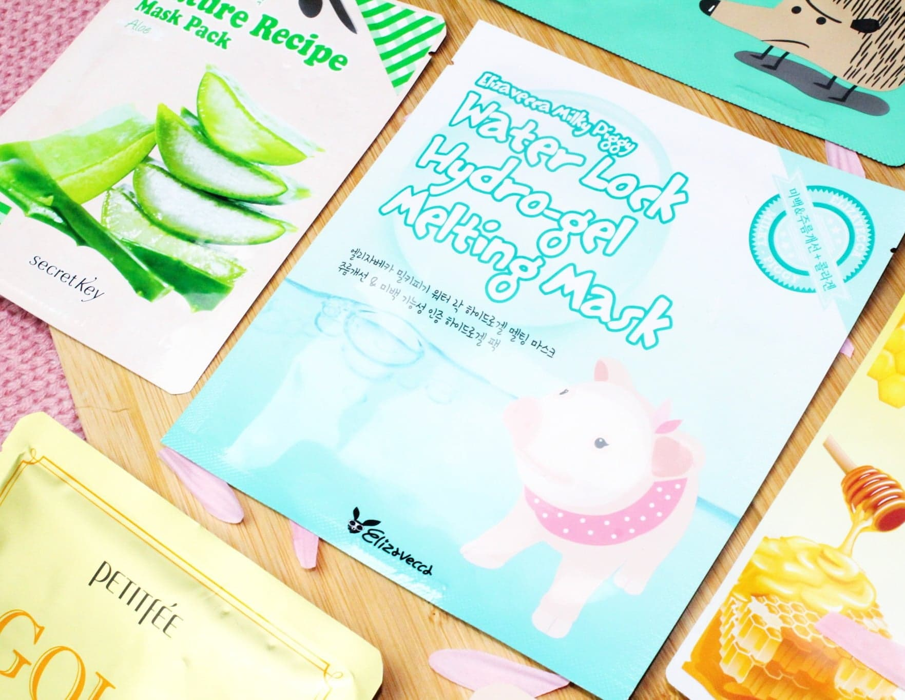 Korean Beauty Sheet Mask Haul at TK Maxx | Elizavecca Milky Piggy