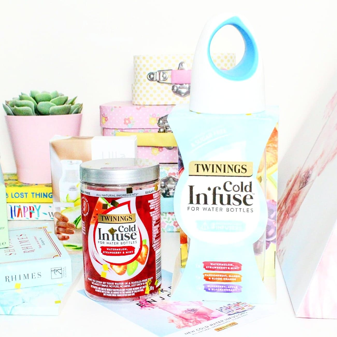 New Twinings Cold Infuse | Their First Ever Cold Water Infusion