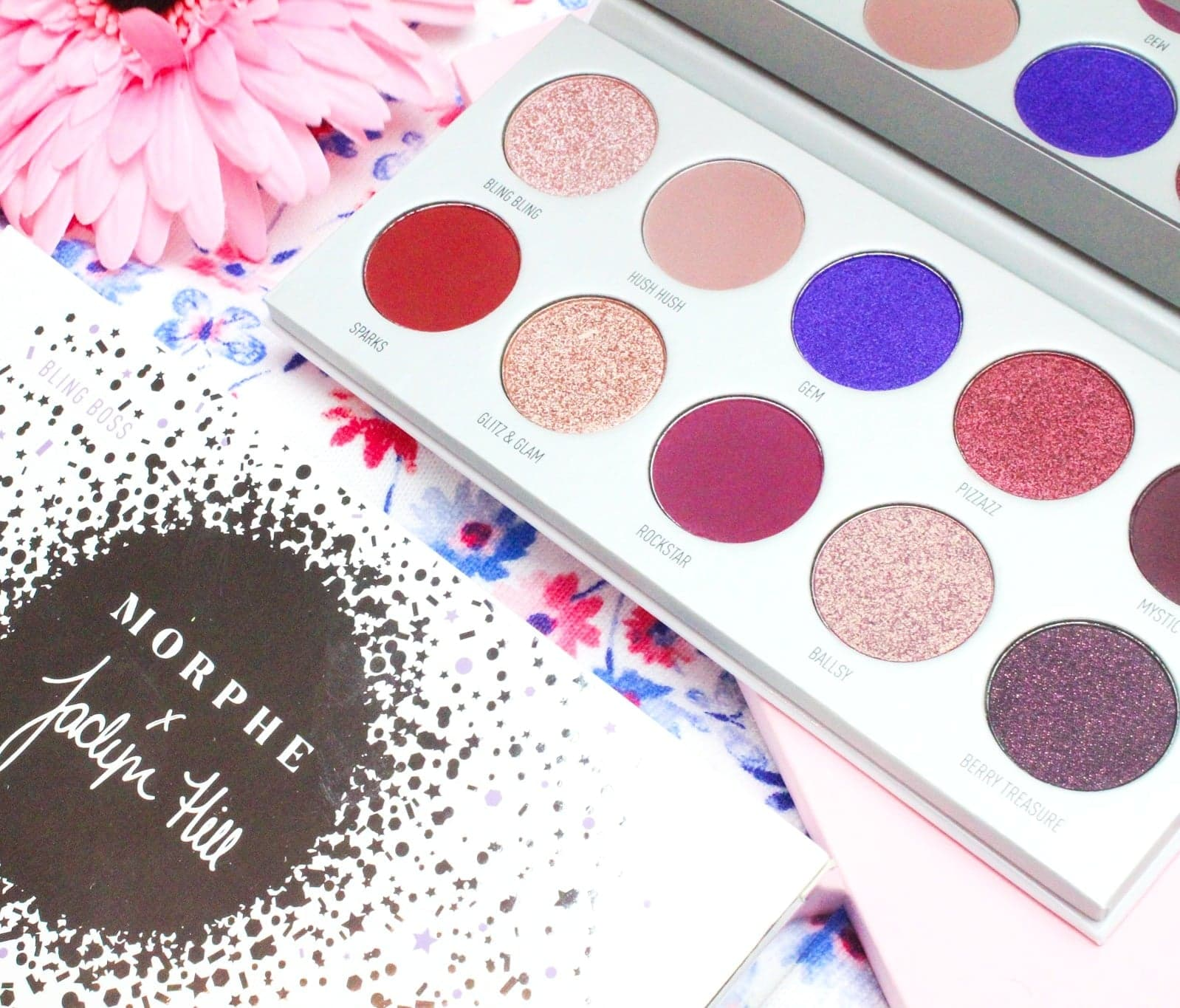 Morphe X Jaclyn Hill: The Vault | Bling Boss Eyeshadow Palette