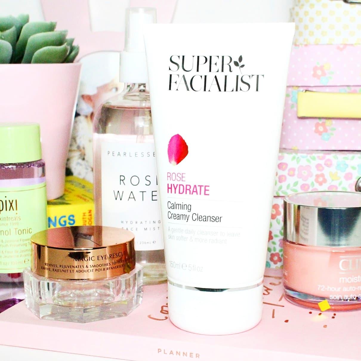 Super Facialist Rose Hydrate Calming Creamy Cleanser