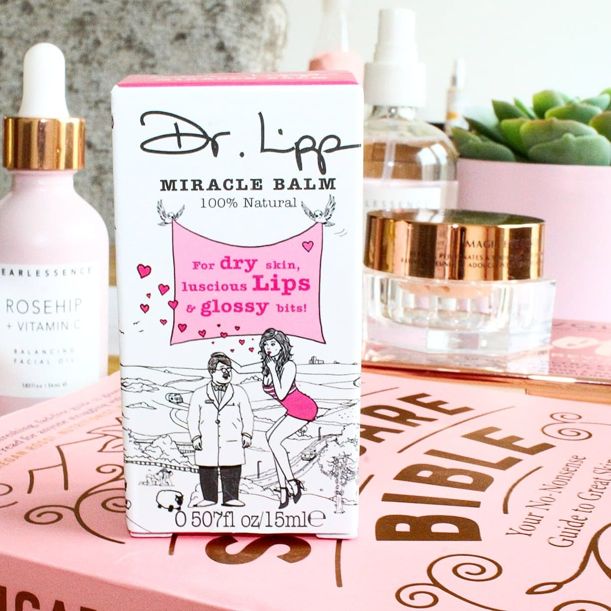Dr. Lipp's Original Nipple Balm for Dry Skin, Luscious Lips & Glossy Bits
