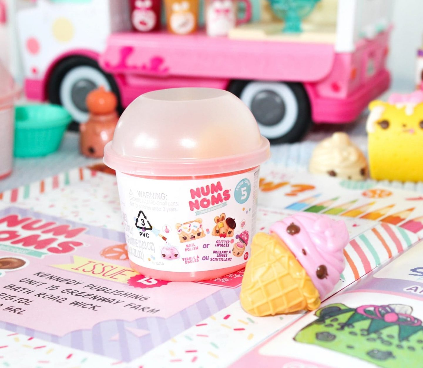 Welcome to the Cute & Squishy World of Num Noms