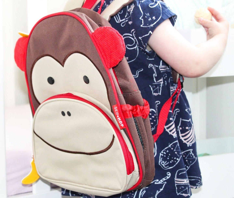 Meet Marshall Monkey | Skip Hop Little Kids Backpack