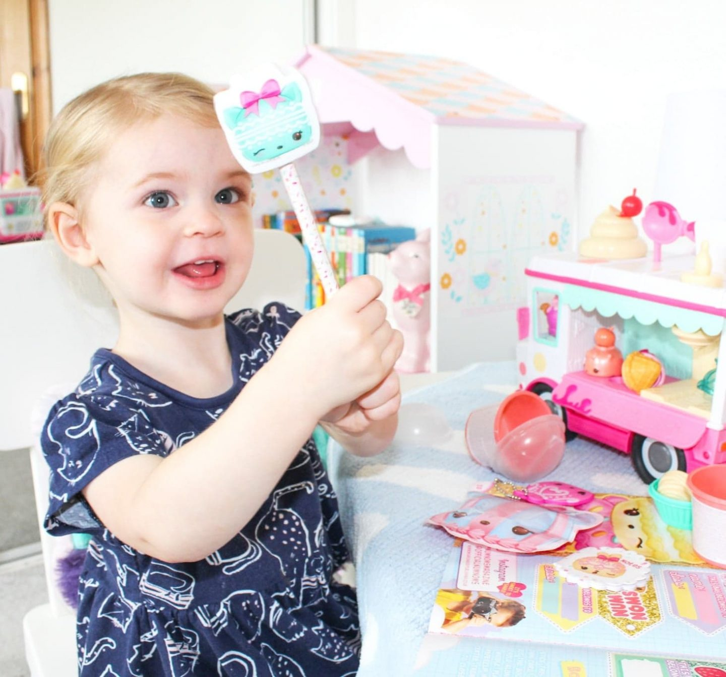 Welcome to the Adorable World of Num Noms | Glitter Lipgloss Truck Playset