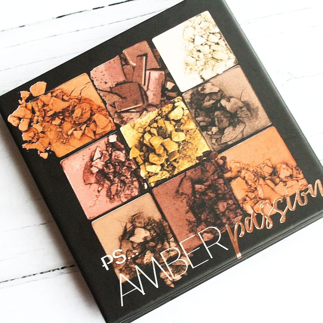 PS… Amber Passion Eyeshadow Palette | A £3 Huda Beauty Dupe