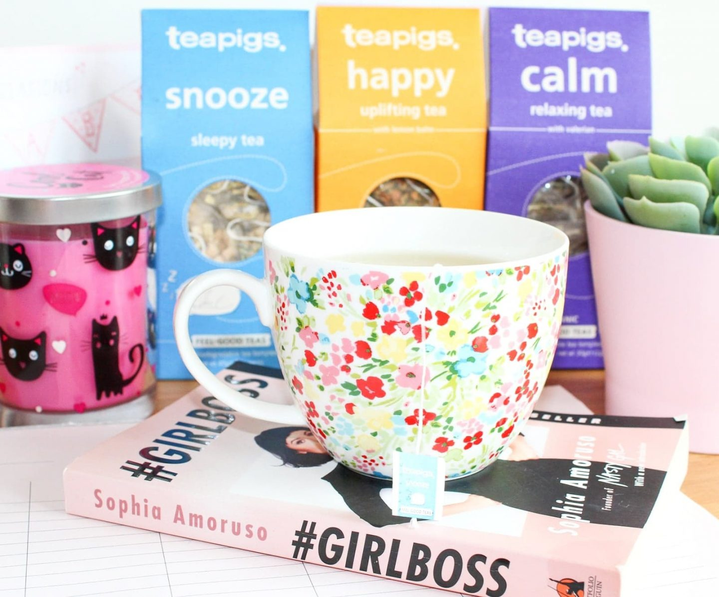 Postpartum Self-Care with teapigs Feel Good Teas