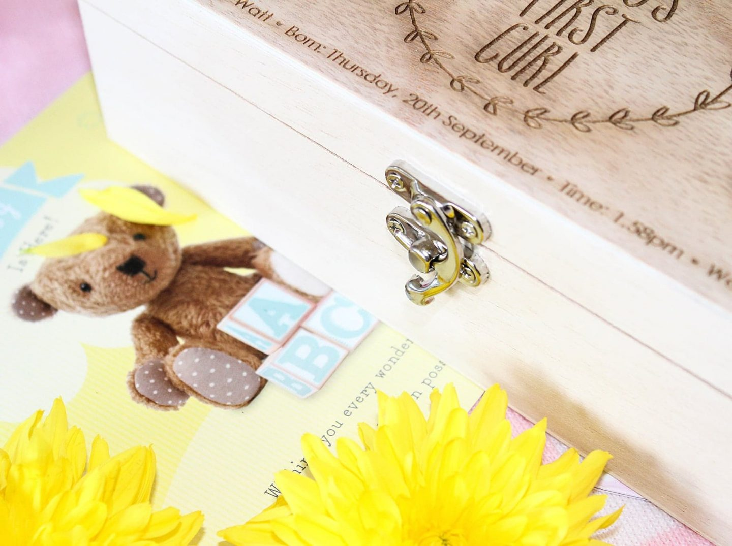 Oh So Cherished | Adorable Personalised Gifts for a New Baby