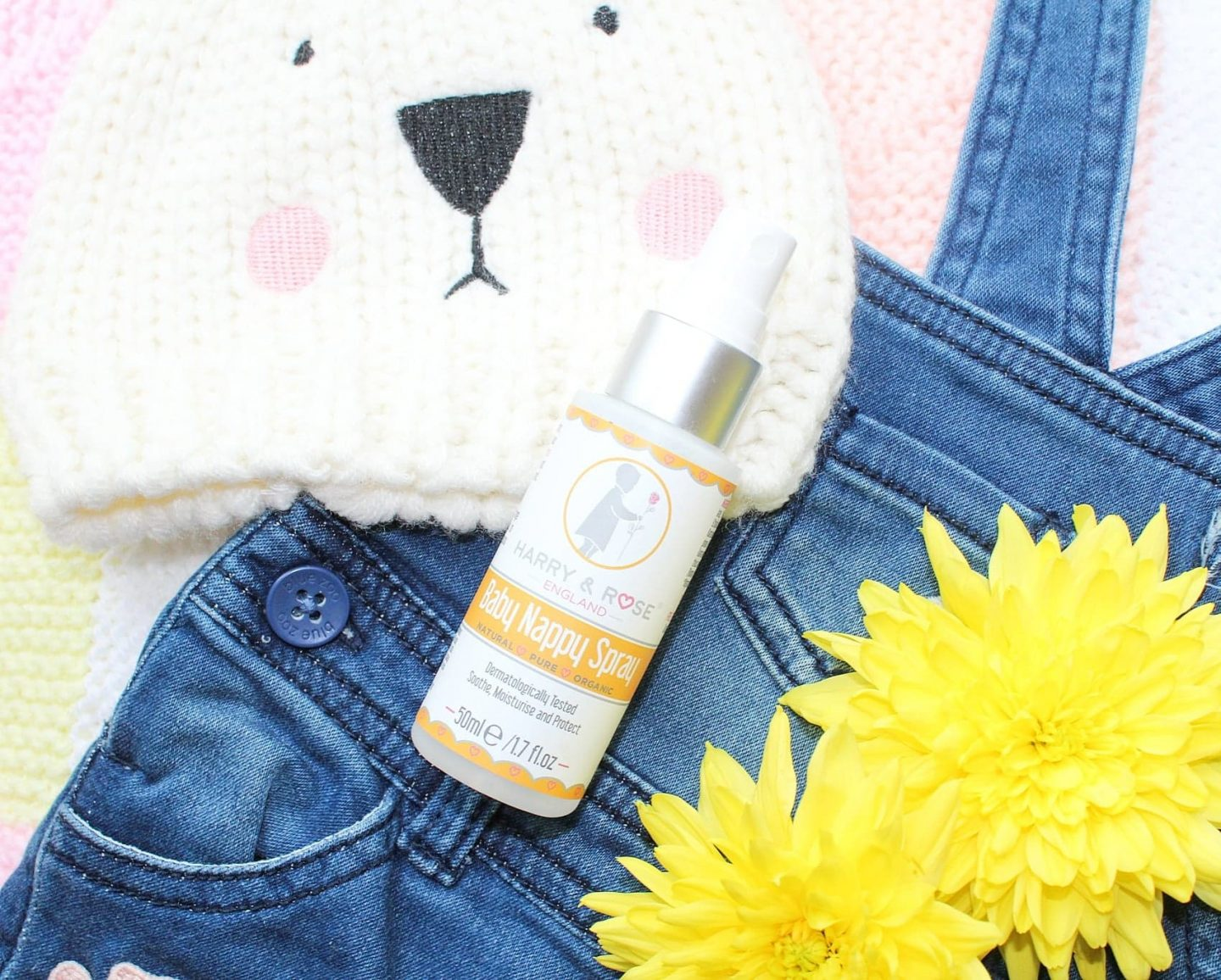 Harry & Rose Nappy Spray | A Changing Bag Must-Have