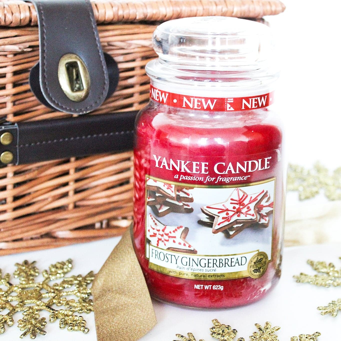 The Yankee Candle Holiday Sparkle Collection | Frosty Gingerbread