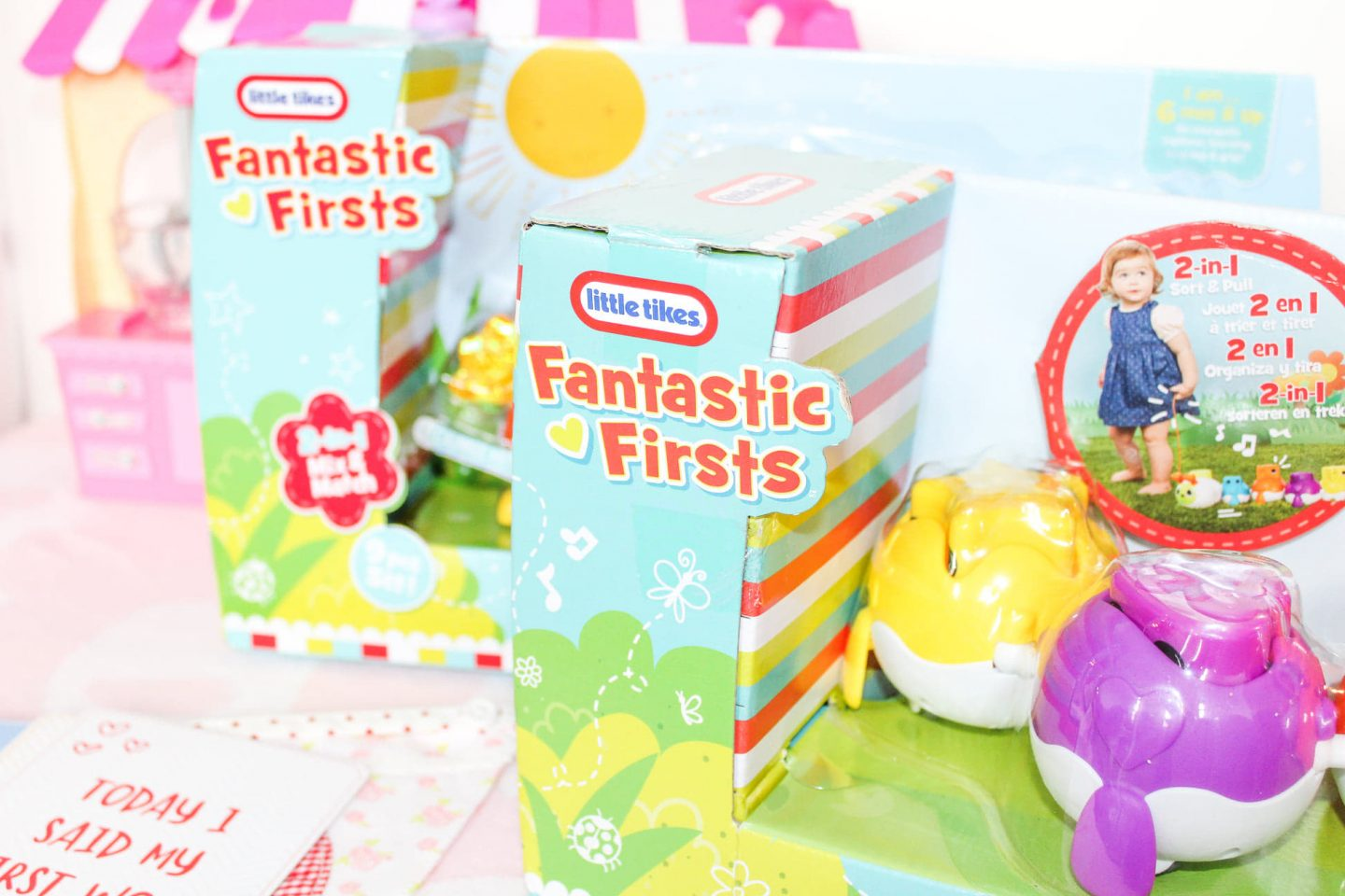 The Fantastic Firsts Collection from Little Tikes