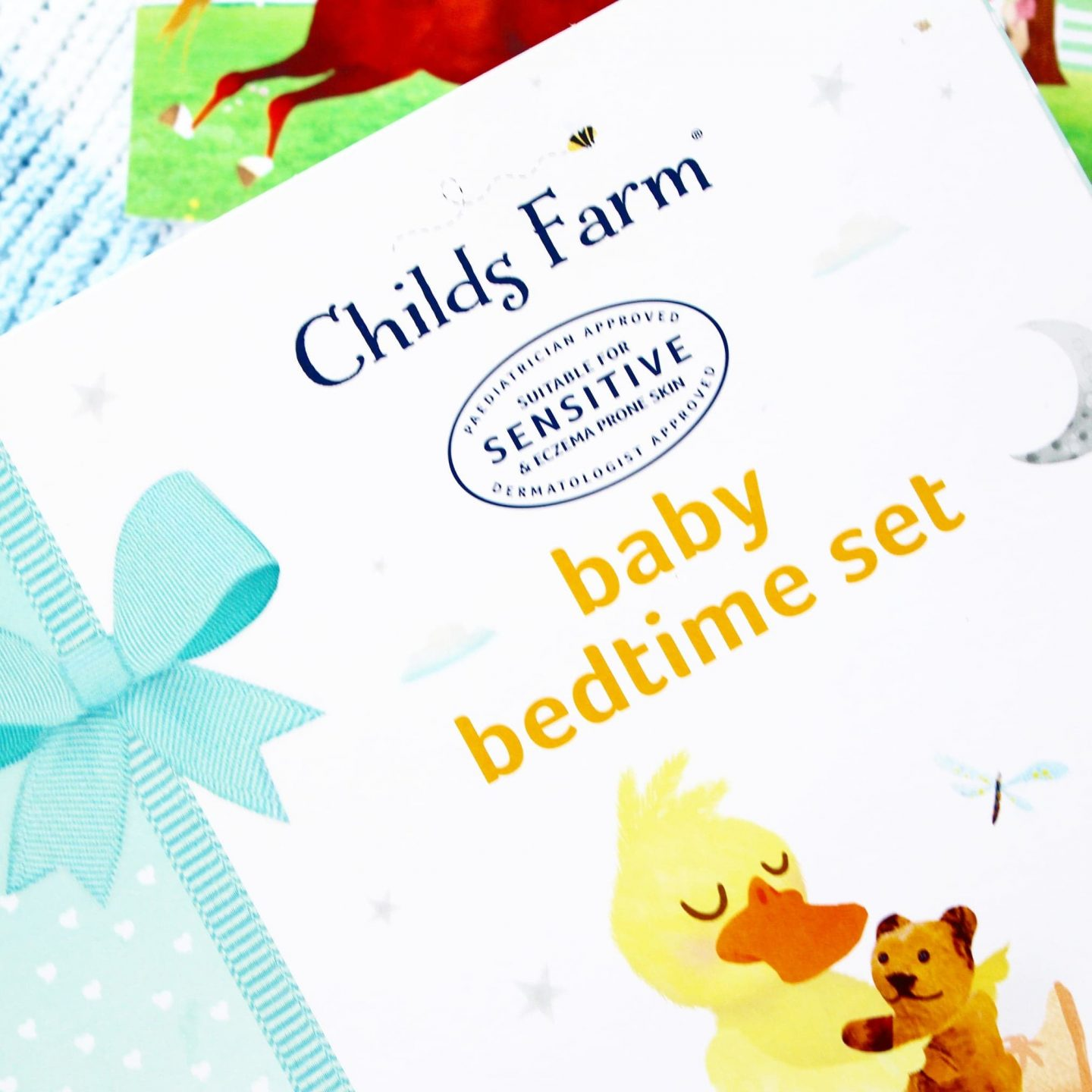 Childs Farm Baby Bedtime Set | Bathtime Treats for Sensitive Skin