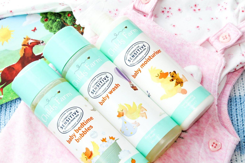 Childs Farm Baby Bedtime Set   Bathtime Treats for Sensitive Skin