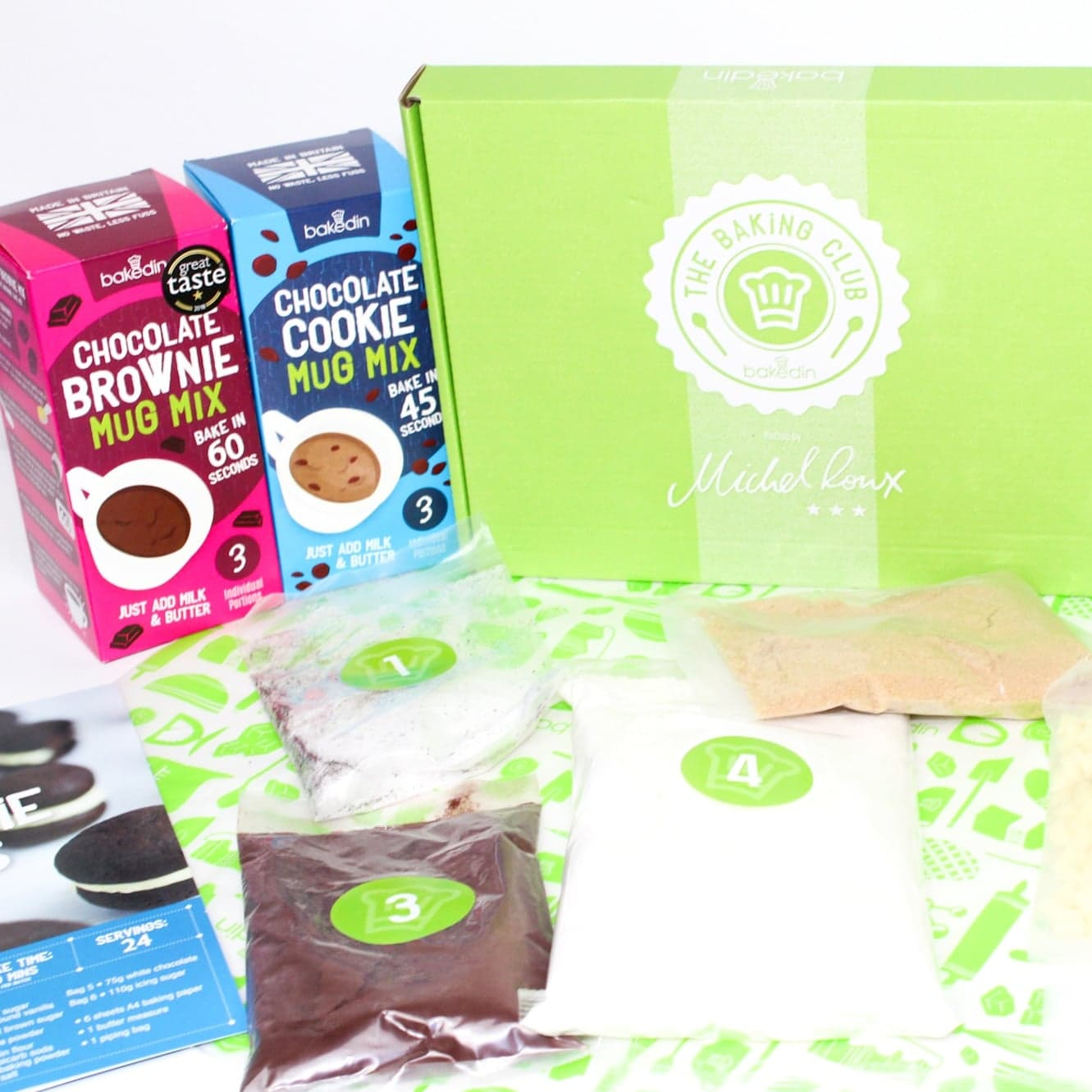 The Bakedin Baking Club | A Baking Subscription Box