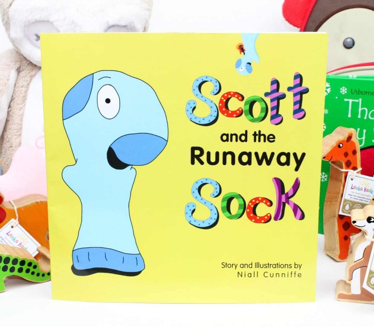 Toddler's Christmas Gift Guide With Scott and the Runaway Sock