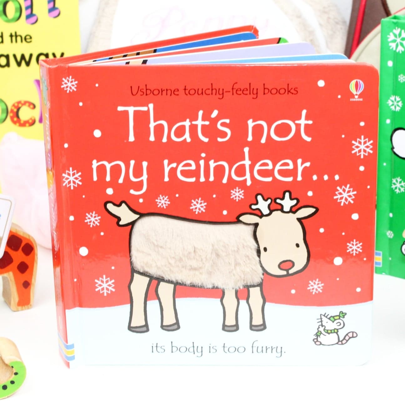 Toddler's Christmas Gift Guide With 'That's Not My...' Books