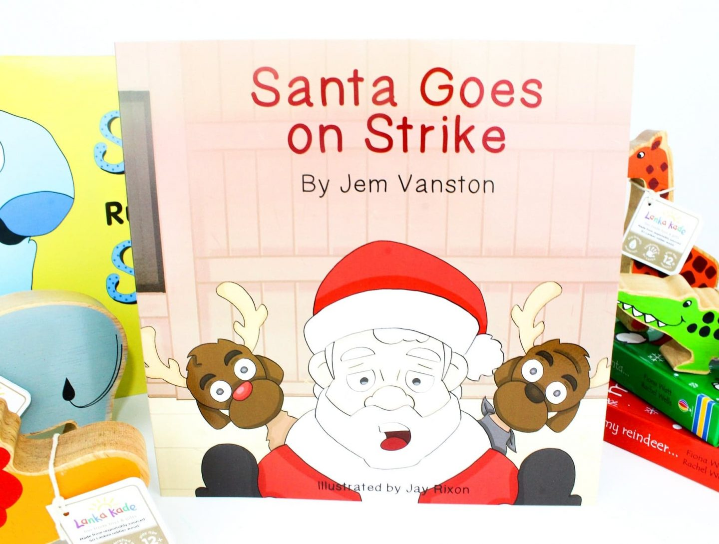 Toddler's Christmas Gift Guide With Santa Goes On Strike