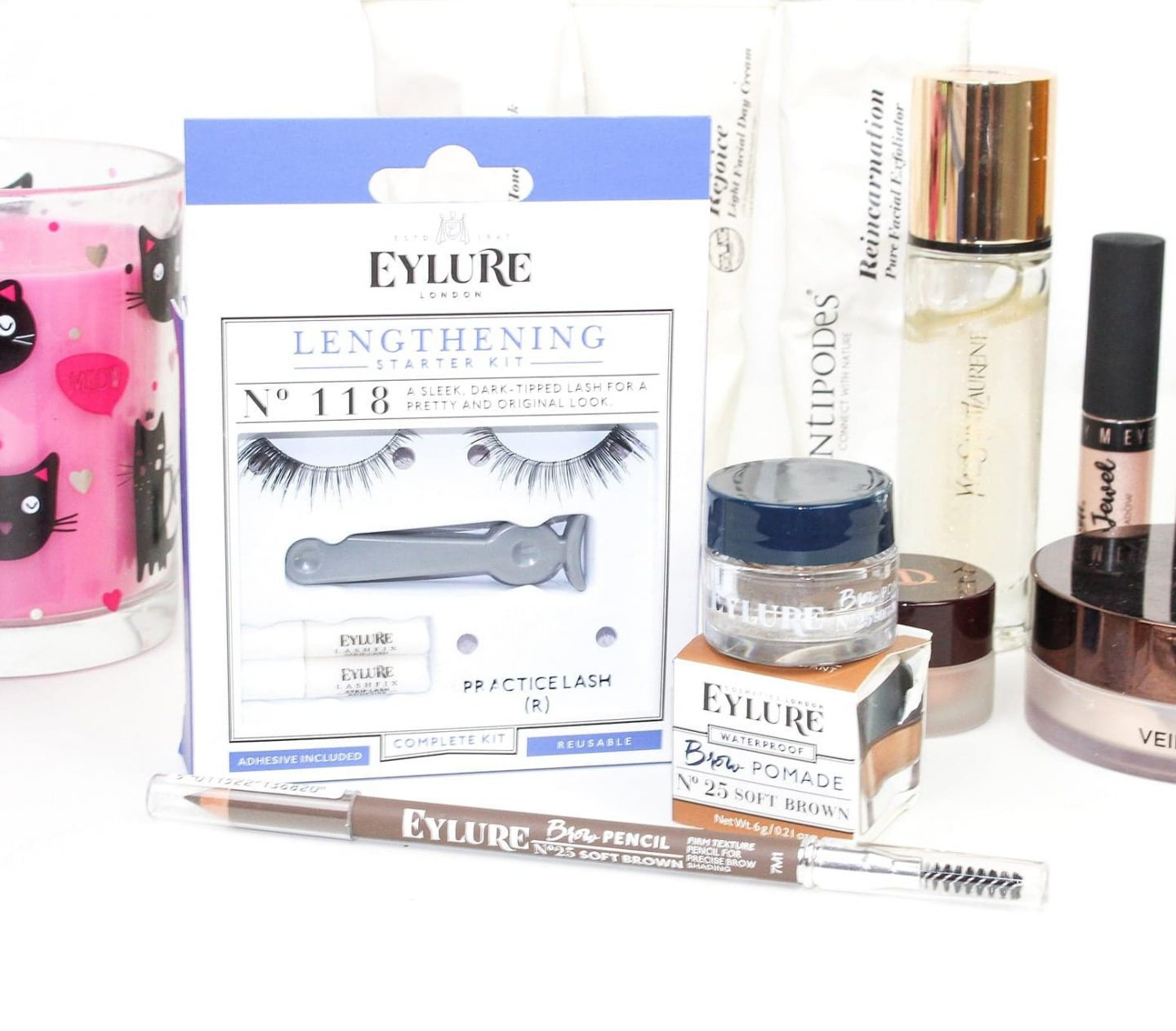 FalseEyelashes.co.uk | Eylure Lengthening Lashes 118 Starter Kit