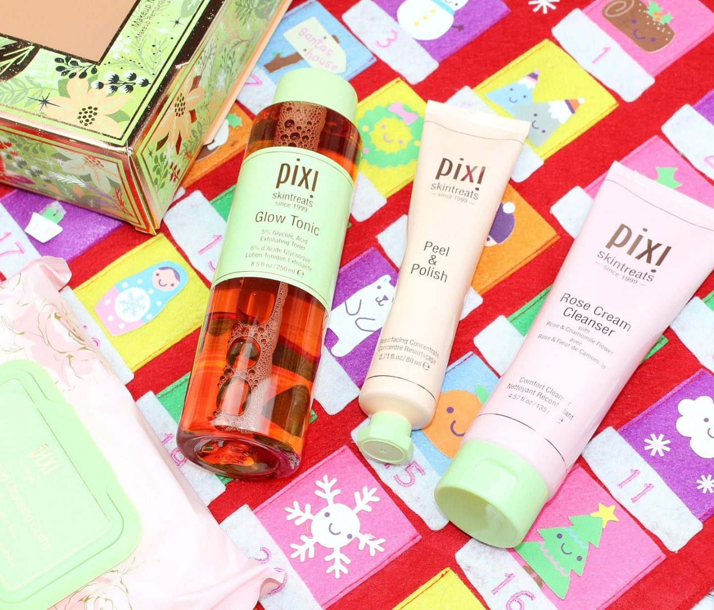 The Box of Beautiful Skincare Set by Pixi Now at Marks & Spencer