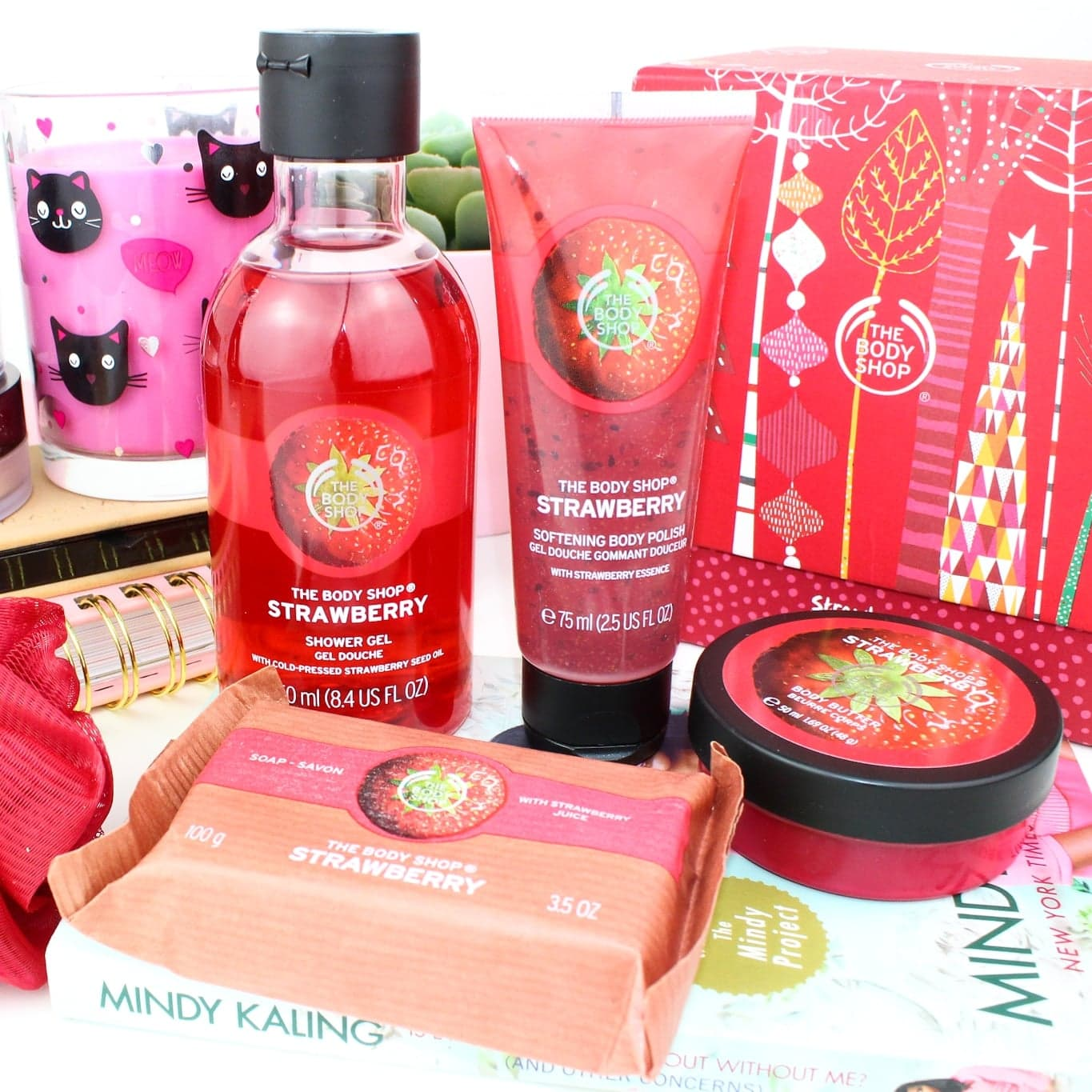 Strawberry Treats STILL Available The Body Shop Sale