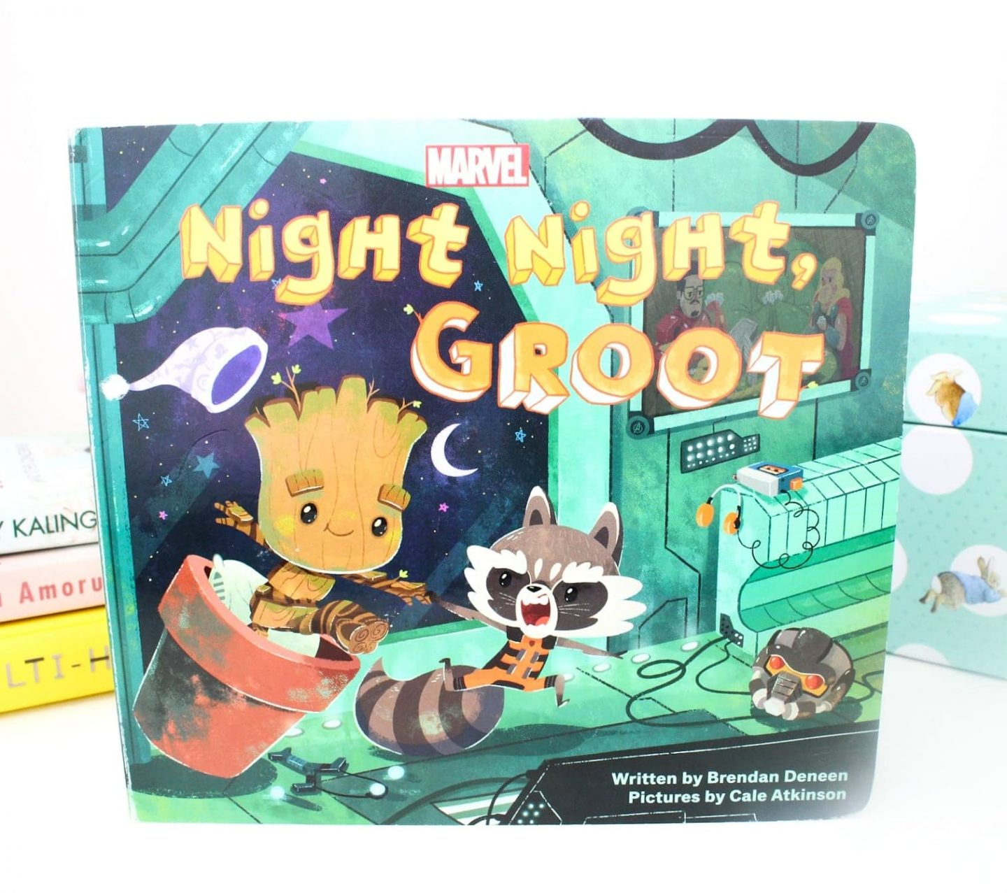 Best Books for Toddlers | Night Night, Groot by Brendan Deneen