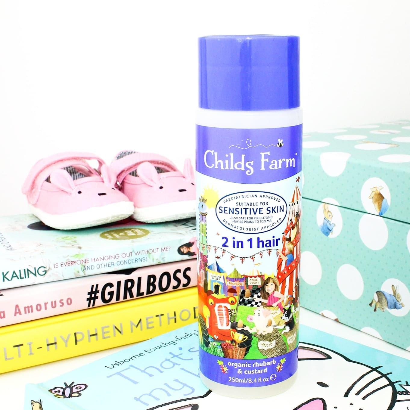 Childs Farm 2 in 1 Shampoo & Conditioner in Organic Rhubarb & Custard