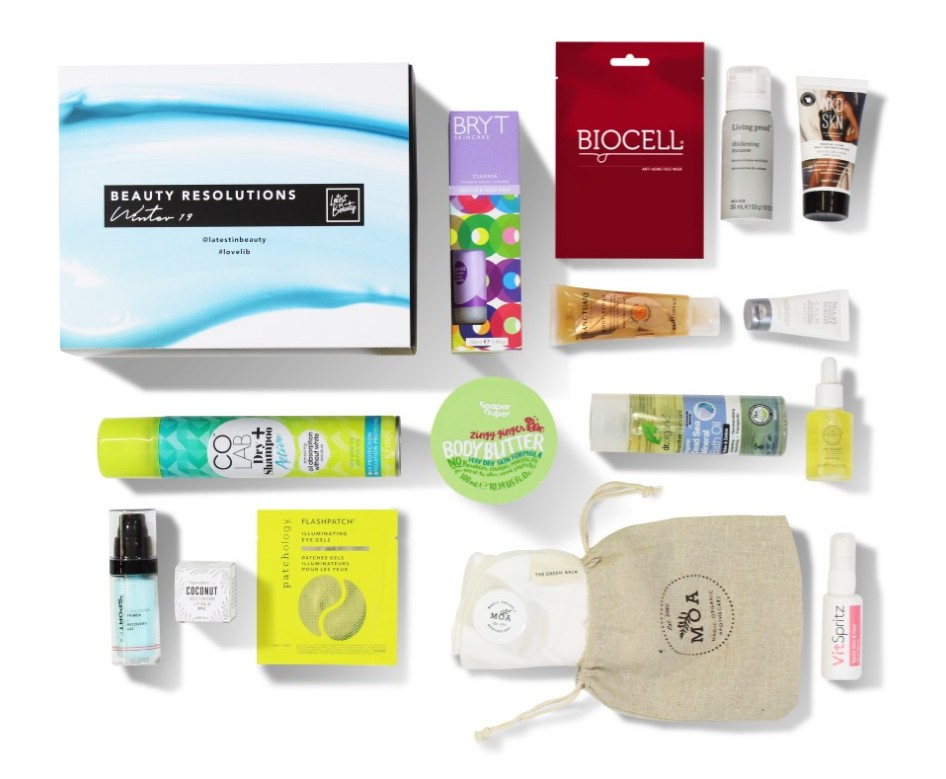 The Latest in Beauty Beauty Resolutions Winter Box '19 is Now Available