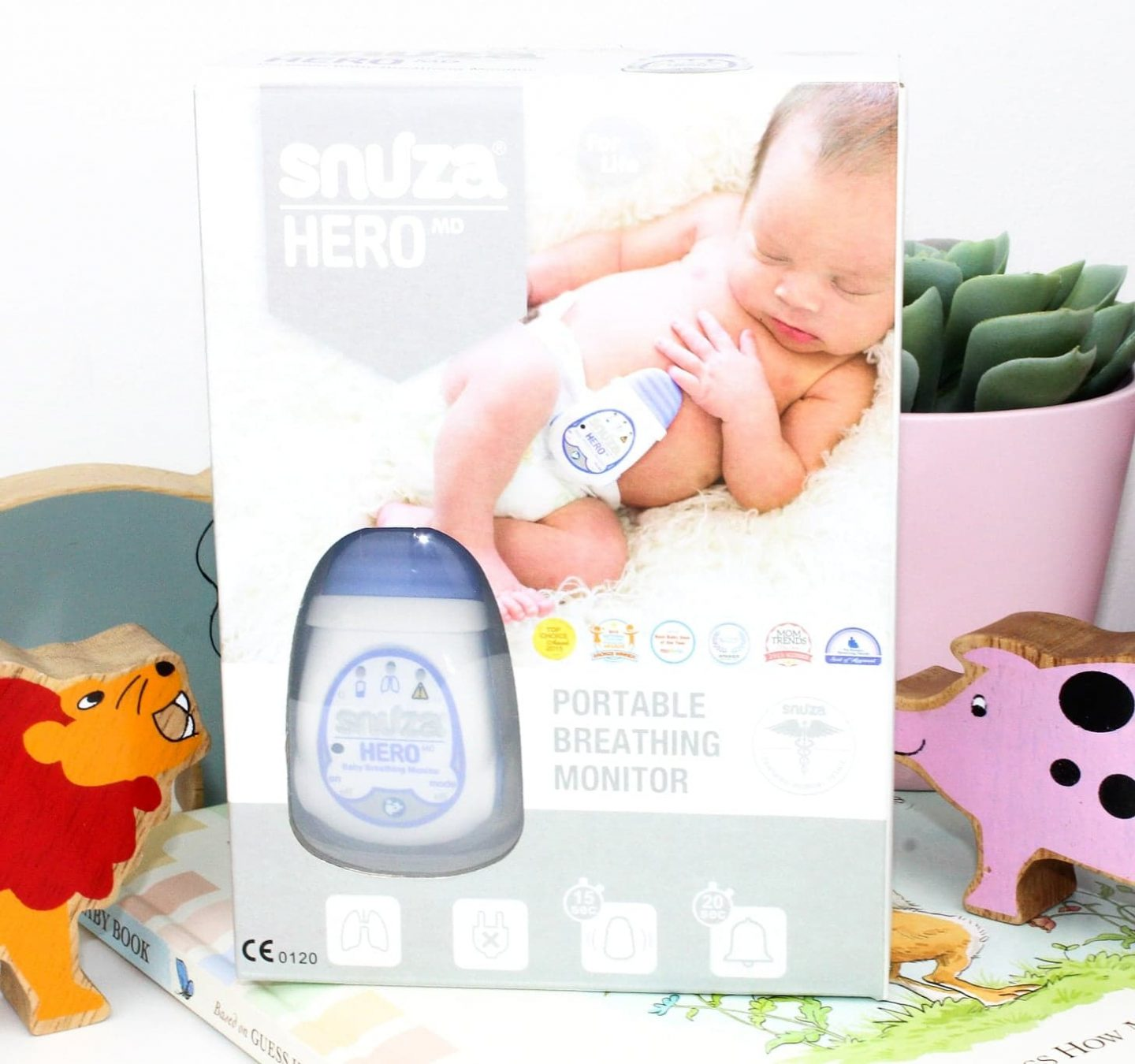 Snuza HeroMD | Portable Breathing Monitor for Newborn Babies