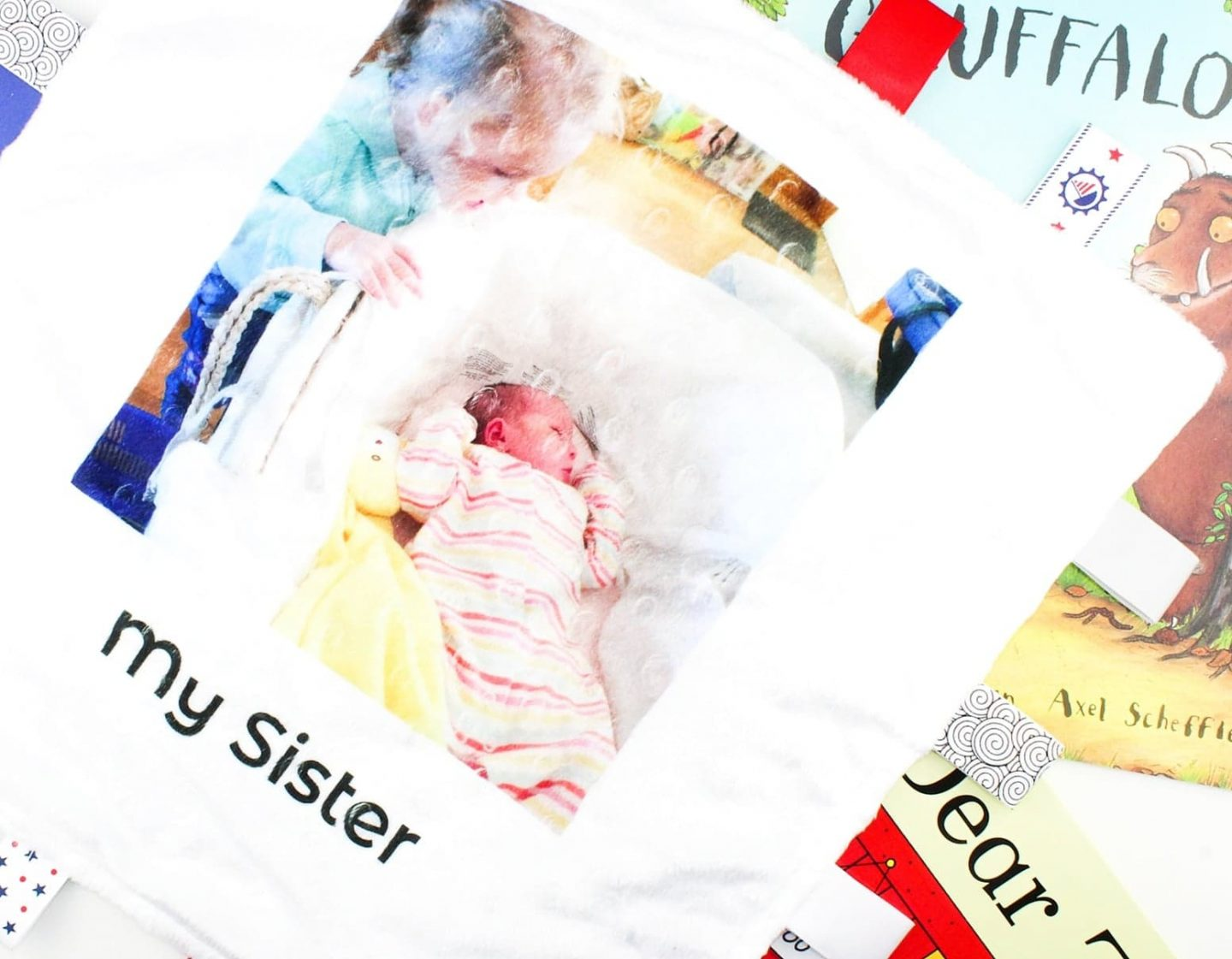 My 1st Photos | Handmade Fabric Keepsakes for Little People
