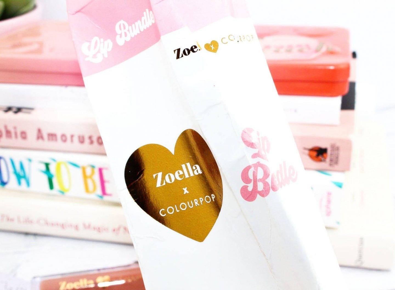 ColourPop X Zoella 'My Day Ones' Lip Bundle Review