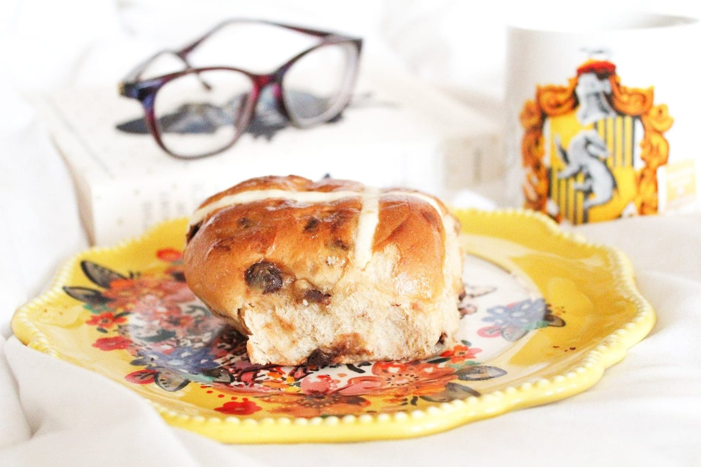 M&S Salted Caramel and Chocolate Hot Cross Buns