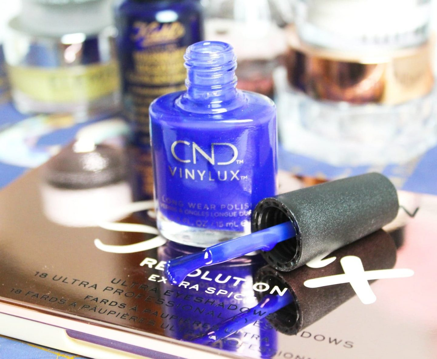 Cnd Vinylux Weekly Polish Wild Earth Collection The Beautiful Bluebird