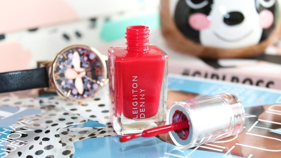 Leighton Denny High Performance Nail Polish   The Wanderlust Collection SS19