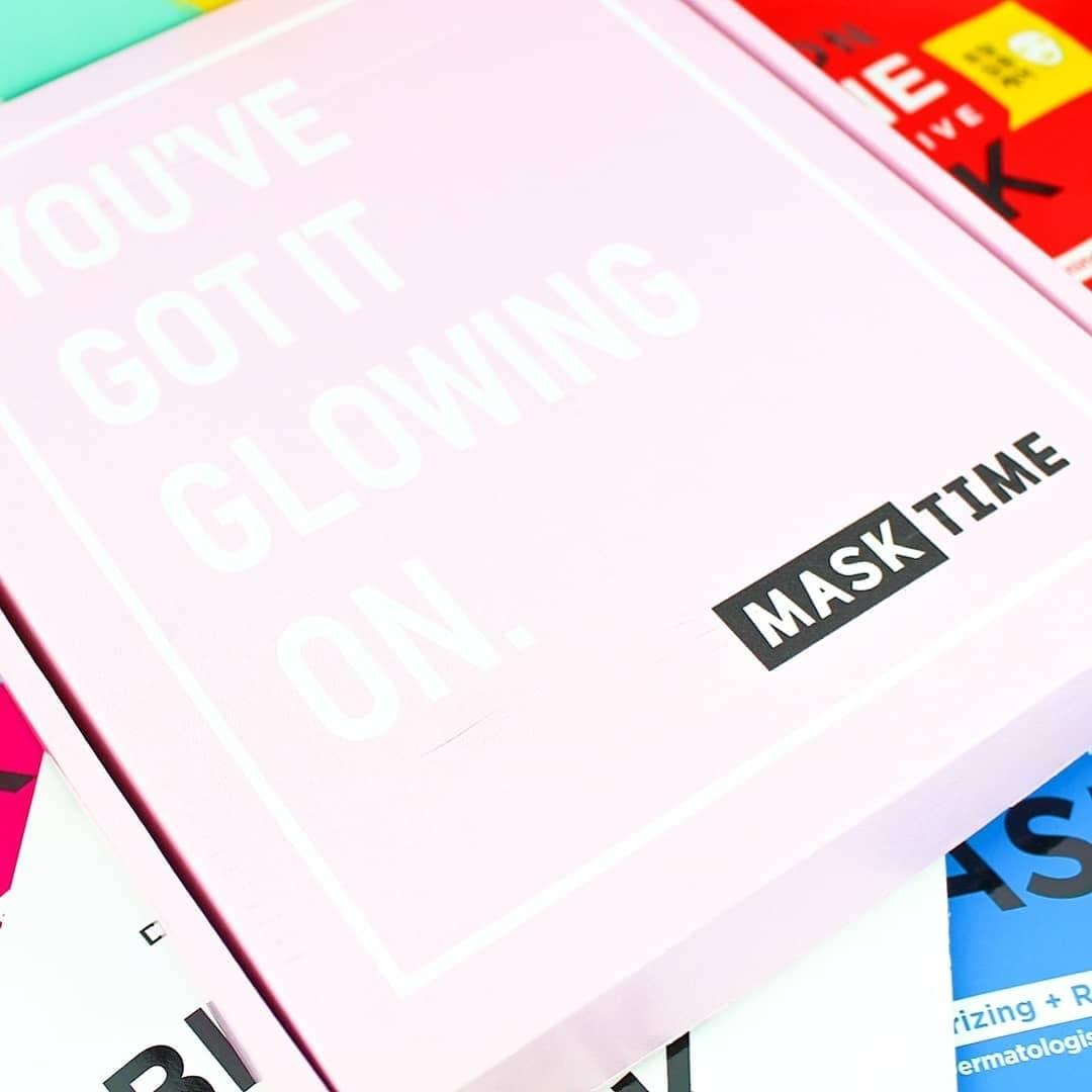 Mask Time | A Korean Sheet Mask Subscription Box