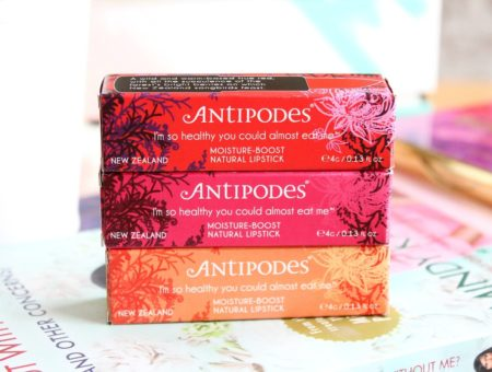 Step into Summer | Antipodes Moisture-Boost Natural Lipstick Collection