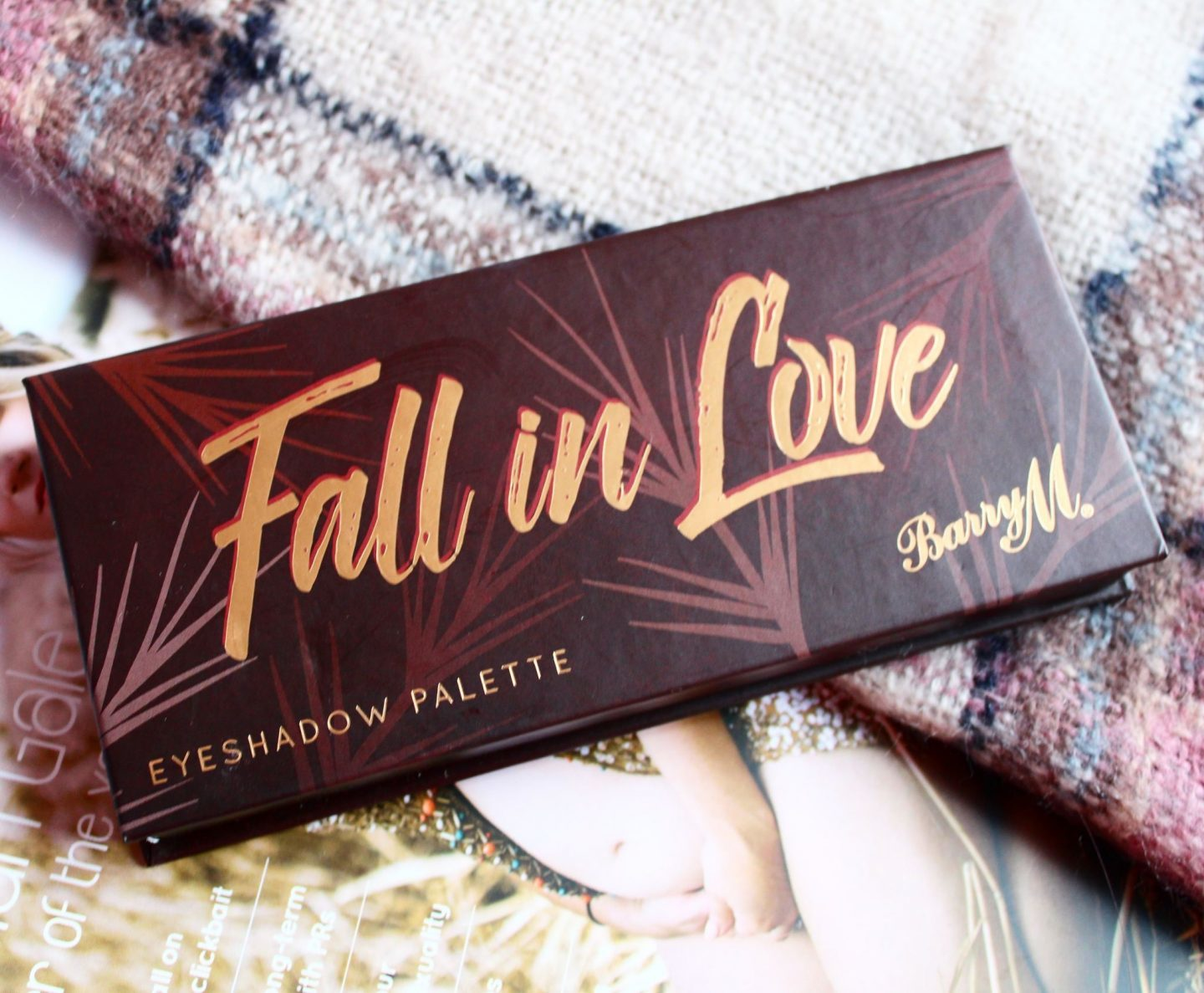 Barry M Fall in Love Eyeshadow Palette | Review & Swatches